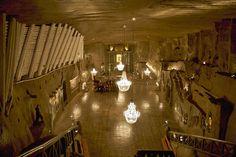 Minas de sal de Wieliczka. Polonia.