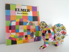 Libertylle - Elmer, un doudou fameux Diy Couture, Couture Sewing, Softies, 4 Kids, Baby Kids, Sewing For Kids, Sewing Crafts, Sewing Patterns, Textiles