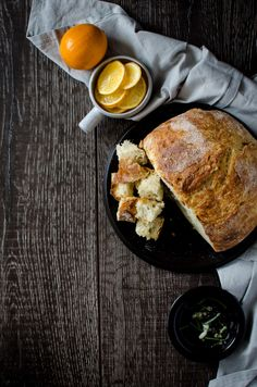 Meyer Lemon Rosemary Bread is an easy bread you can make in a Dutch oven at home. This fragrant bread smells so incredible and looks like it came from a bakery! Rosemary Bread, No Knead Bread, Easy Bread, Bread Baking, Tasty Dishes, Family Meals, Dutch Oven, Favorite Recipes, Lemon