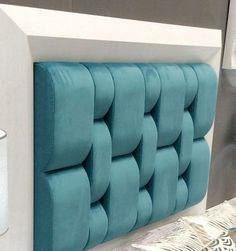 Lo Bed Headboard Design, Bedroom Bed Design, Home Room Design, Headboards For Beds, Bedroom Decor, Bed Back Design, Upholstered Wall Panels, Double Bed Designs, Hotel Collection Bedding