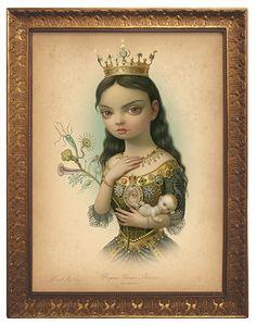 """Regina Gloriae Naturae"" based on Mark Ryden's painting ""The Creatrix"""
