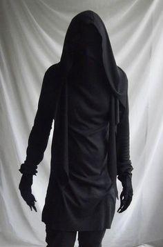 reaper demon ferryman grim avante garde mens fashion longsleeve