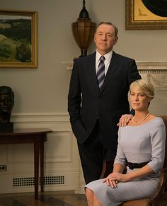 Kevin Spacey for President - in House Of Cards Season 3 - starring First Lady Robin Wright - Sony - kulturmaterial