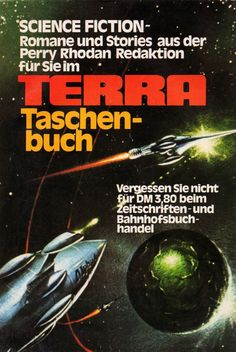 Perry Rhodan, Science Fiction, Terra, Taschenbuch