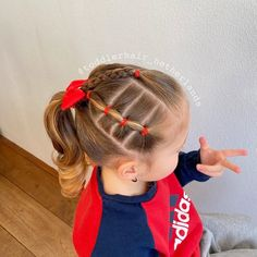 You are in the right place about toddler hairstyles girl plaits Here we offer you the most beautiful Easy Toddler Hairstyles, Cute Little Girl Hairstyles, Baby Girl Hairstyles, Cute Hairstyles, Toddler Hair Dos, Kids Hairstyle, Toddler Girls, Girl Hair Dos, Protective Hairstyles