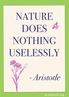Aristotle #nature #quotation