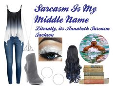 """""""Annabeth Sarcasm Jackson"""" by daughterofathena-ccc ❤ liked on Polyvore featuring H&M, Venus and Miss Selfridge"""