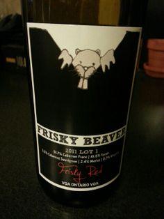 Edgy Wine Label