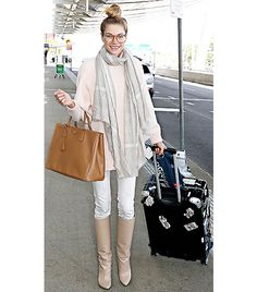 15 Easy Ways To Look Chic At The Airport via @WhoWhatWear