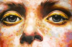 View Thomas Saliot's Artwork on Saatchi Art. Find art for sale at great prices from artists including Paintings, Photography, Sculpture, and Prints by Top Emerging Artists like Thomas Saliot. Thomas Saliot, Close Up Art, Close Up Faces, Eye Close Up, Art Alevel, Eye Painting, A Level Art, Yellow Eyes, Eye Art
