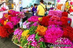 10 Off the beaten tracks places to see in Bangkok Bangkok Shopping, Bangkok Hotel, Bangkok Travel, Large Flowers, Fresh Flowers, Curious Facts, Yorky, Krabi Thailand, Popular Flowers