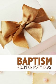 How to Host a Baptism Reception - great for Catholic familes! Are you planning a Baptism soon? All the tips and tricks you need are right here! Baptism Reception, Baptism Party, Reception Party, Baby Baptism, Baptism Ideas, Event Planning Template, Event Planning Checklist, Event Planning Business, Catholic Books