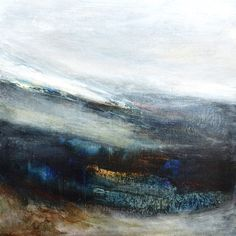 'Fragments 201' striking painting by Leila Godden, featured artist at Chalk Gallery, Lewes, East Sussex. http://chalkgallerylewes.co.uk