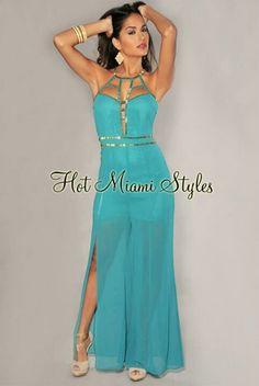 Goddess Jumpsuit Hot Miami Styles
