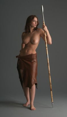 Warrior Girl With A Spear