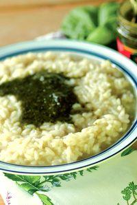 Recipe for Pesto Risotto   DeLallo Recipes