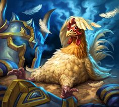 Chicken - Characters & Art - Hearthstone: Heroes of Warcraft