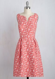 The Hostess with the Mimosas Floral Dress. Your Sunday brunch has it all - sophisticated eats, bubbly libations, and gorgeous style as exemplified by this floral dress from Adrianna Papell! #pink #modcloth