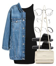 """""""Sin título #12970"""" by vany-alvarado ❤ liked on Polyvore featuring Topshop, H&M, Givenchy, ASOS and Ray-Ban"""