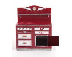 "true2scale | Dollhouse Miniatures | Printables, Tutorials, Inspiration 1/4"" scale dollhouse stove"