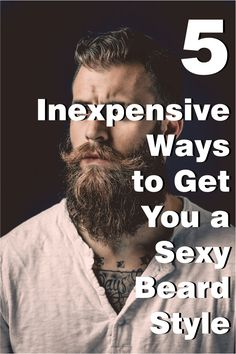 Here is a quick 5 step instruction guide on how to style your beard.