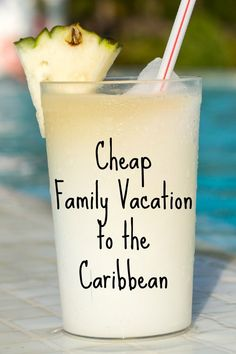 Dreaming of sipping coconut smoothies while lounging beach side but think you can't afford it? Check out these cheap family vacations in the Caribbean!