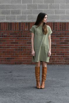Boxy Dress Instruction and Pattern, this would be so fun to do, even layered over a turtleneck!