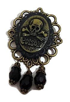 Pagan Jewelry, Gothic Jewelry, Boho Jewelry, Handmade Jewelry, Jewellery, Poison, Fork Bracelet, Dangle Earrings, Glass Beads