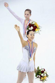 With Julia Linitskaia(Russia)  : Cup of China 2012