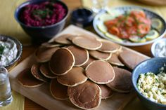 Blini bar – from our Russian World Cup meal