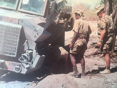 Koevoet Casspir hitting a landmine Once Were Warriors, Army Day, Troops, Soldiers, Brothers In Arms, Defence Force, My Land, Cold War, Armed Forces