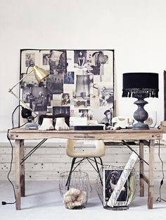 home office inspiration Workspace Inspiration, Interior Inspiration, Interior Ideas, Blog Inspiration, Interior Styling, Interior Decorating, Decorating Ideas, Decor Ideas, Office Workspace