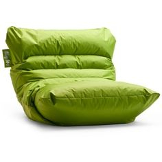 Vinyl Bean Bag Chair 55 Liked On Polyvore Featuring Home Furniture Chairs Green Beanbag Be