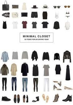 I've been loving the idea of a capsule closet-- a set of clothing (mostly basics, mostly essentials), normally around 24 items, which can be mixed and matched to create a wide variety of outfits--and am thinking of doing a season of it! either a summer capsule wardrobe or a fall capsule wardrobe. we will see! there a bunch of tips for minimalist wardrobes and packing light here! #wardrobebasicsfall2015