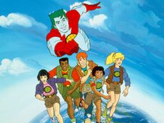 Captain PLanet, he's or HERO! Gonna take pollution down to ZERO!!!! YEAH!