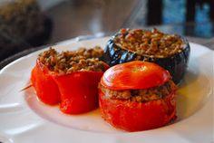 Невыразимая легкость кулинарного бытия...: Фаршированные овощи по-провансальски