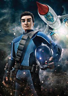 Scott Tracy Thunderbird 1, Timeless Series, Thunderbirds Are Go, Classic Sci Fi, Sci Fi Characters, Cinema, Sci Fi Fantasy, Old Toys, Science Fiction