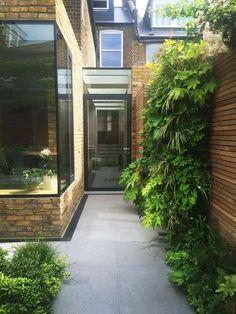 Ideas Kitchen Window View Side Return For 2019 Modern Garden Design, Landscape Design, Contemporary Landscape, Victorian Terrace, Victorian Homes, Side Return Extension, Rear Extension, Extension Ideas, House Extensions