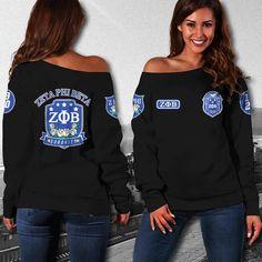 1 new message Sorority Fashion, Sorority Outfits, Sorority Life, Sigma Gamma Rho, Zeta Phi Beta, Off Shoulder Sweater, Design Trends, Autumn Fashion, T Shirts For Women