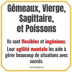 #Gémeaux, #Vierge, #Sagittaire et #Poissons sont flexibles et ingénieux. Leur agilité mentale les aide à gérer beaucoup de situations avec succès. #horoscope #zodiaque #voyance