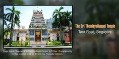 The Sri Thendayuthapani Temple in Singapore is dedicated to Lord Subramaniam. Also known as Chettiars' Temple, it was gazetted as a National Monument in 2014 and was built by the Nattukkottai Chettiar community in 1859. Thaipusam is celebrated with great zeal here and the rituals of Kavadi Attam attracts thousands of devotees from around the world. #TempleTrivia