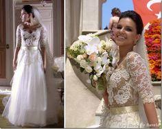 moda da novela salve jorge - vestido de noiva da drika capítulo 25 de outubro de 2012 a