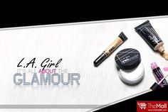 L.A. GIRL Cosmetics !!!  Affordable ranges of Makeup are now available from L.A Girl !!!  Buy Authentic products from - www.TheMallBD.com To Order Now, Call 01977300901, 01977300902