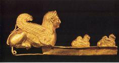Fibula d'oro etrusca