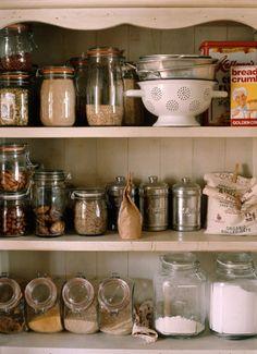 full of jars