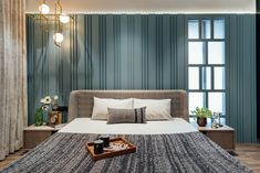 Veerbhadra-heights-sample-apt-7 Bedroom Setup, Bedroom Bed Design, Home Bedroom, Modern Bedroom, Bedroom Decor, Modern Apartment Decor, Apartment Chic, Apartment Design, India Home Decor