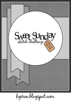 Sweet Sunday Sketch Challenge 231
