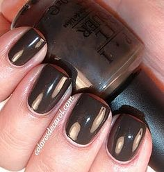 OPI Get In the Expresso Lane is perfect for fall