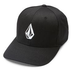 Gorra Volcom Full Stone Xfit Flexfit Black (Talla S/M) Street Skate Urban
