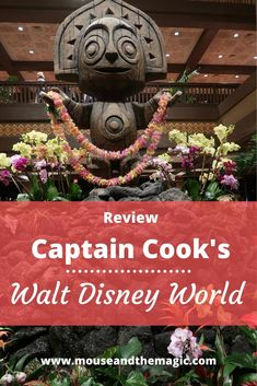 Review - Captain Cook's at Walt Disney World - Captain Cook's is a quick service restaurant located in the Polynesian Resort at Walt Disney World.    The Polynesian Resort is just a short monorail or boat ride away from the Magic Kingdom. Read our review for the menu, our thoughts and of course food photos.  #DisneyWorldDining #DisneyWorld #DisneyWorldFood #DisneyWorldRestaurants Disney World Rides, Disney World Food, Disney World Restaurants, Disney World Planning, Walt Disney World Vacations, Disney Travel, Disney Cruise Line, Disney World Resorts, Dining At Disney World